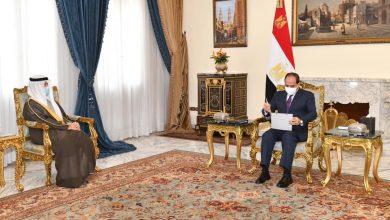 Photo of الرئيس المصري يؤكد لـ وزير خارجية الكويت ارتباط أمن الخليج بأمن مصر