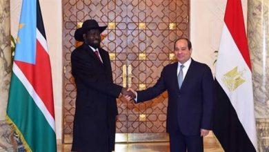 Photo of السيسي وسلفا كير يعقدان قمة مصرية – جنوب سودانية