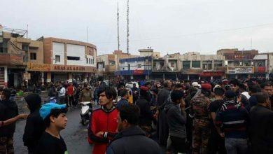 Photo of مقتل 6 متظاهرين عراقيين بعد هجوم لأنصار الصدر عليهم
