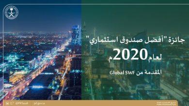 Photo of صندوق الاستثمارات يحصل على جائزة أفضل صندوق استثماري لعام 2020