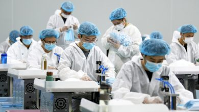 Photo of الصين : ارتفاع طلب الولايات المتحدة على الكمامات الصينية منذ قدوم بايدن إلى الحكم
