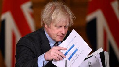 Photo of بريطانيا : رئيس الوزراء بوريس جونسون سيؤجل على الأرجح رفع باقي قيود كورونا