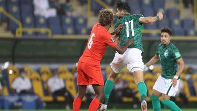 Photo of المنتخب السعودي يكتسح سنغافورة بـ ثلاثة أهداف