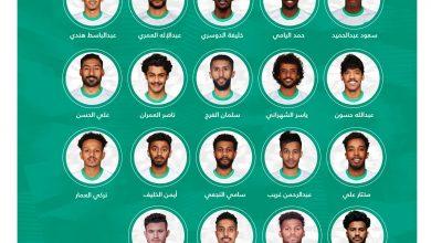 Photo of مدرب الأخضر يعلن قائمة المشاركين في دورة الألعاب الأولمبية طوكيو 2020