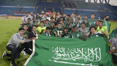 Photo of المنتخب السعودي يتوج ببطولة كأس العرب تحت 20 عاماً