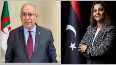 Photo of المنقوش والمعامرة يبحثان آفاق التوصل إلى تسوية سلمية في ليبيا