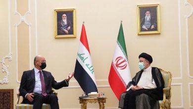 Photo of الرئيس العراقي لنظيره الإيراني : ندعم بقوة استقرار المنطقة وإنهاء التوترات