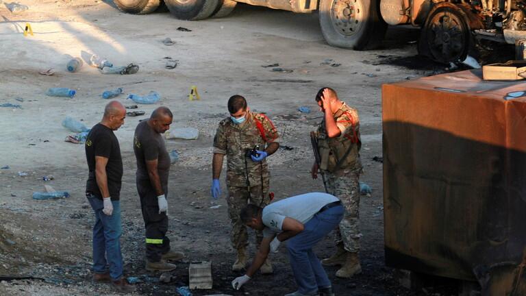 Photo of فيديو .. انفجار صهريج وقود في عكار شمال لبنان وأنباء عن سقوط ضحايا