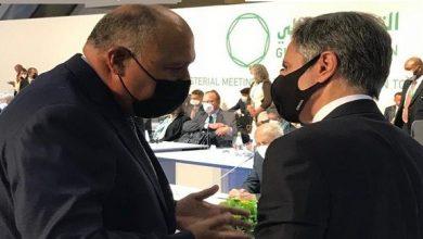 Photo of وزيرا الخارجية المصري والأمريكي يبحثان العلاقات الثنائية