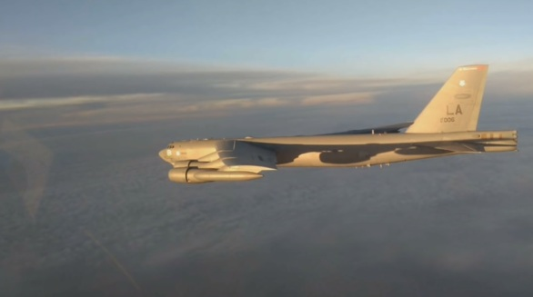 Photo of فيديو .. مقاتلات روسية ترافق قاذفة استراتيجية أمريكية فوق المحيط الهادئ