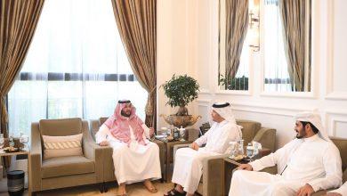 Photo of وزير الخارجية القطري يستقبل الأمير تركي بن محمد بن فهد ويتبادلان الأحاديث الودية